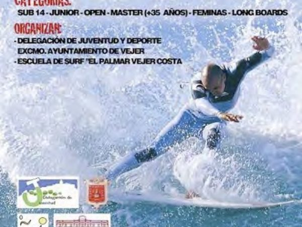 1º Campeonato de Surf El  Palmar Vejer Costa (año 2005)
